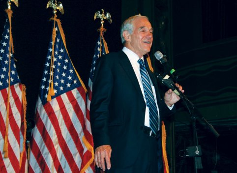 Ron Paul Speaks at Webster Hall